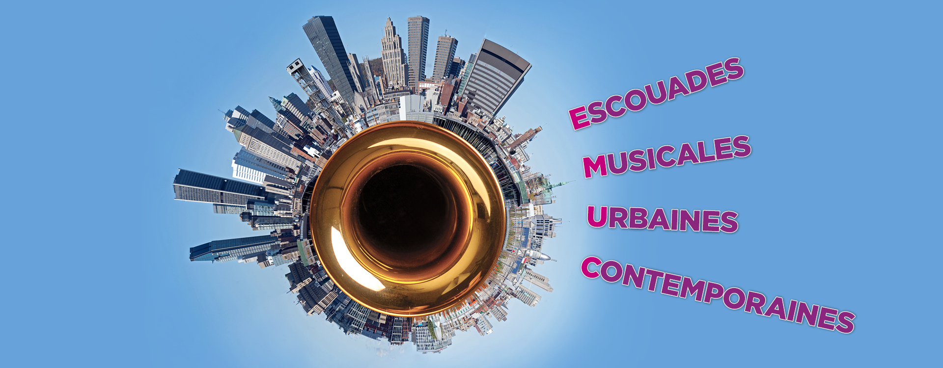 Banner for the project Escouades Musicales Urbaines Contemporaines