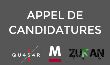 Appel candidatures